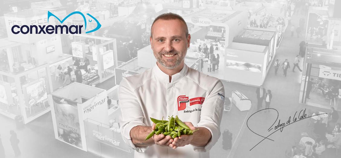 """El chef Rodrigo de la Calle, volverá a Conxemar 2018 de la mano de Findus para presentar el """"Veggie Boom""""."""