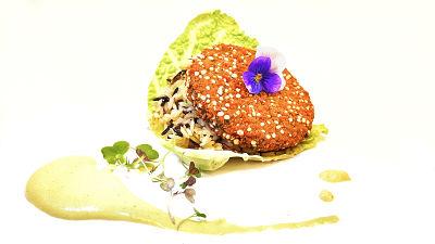 hamburguesa de kale y quinoa