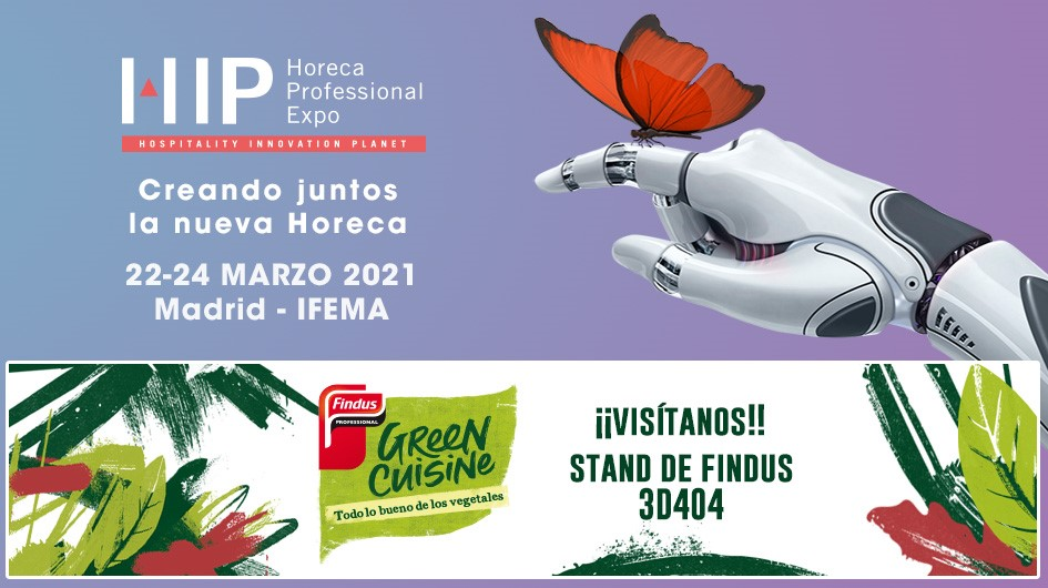 ¡Nos vemos en la Feria Hospitality Innovation Planet, HIP!