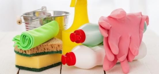 productos para desinfectar una cocina
